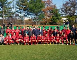 Đội tuyển Việt Nam nhồi thể lực ở Hàn Quốc, chờ đấu Malaysia, Thái Lan