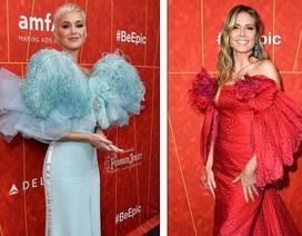 Katy Perry đọ dáng Heidi Klum