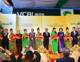 Vietcombank khai trương Ngân hàng TNHH Ngoại thương Việt Nam tại Lào