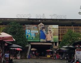 Phát hiện nhiều sai phạm kéo dài tại chợ TP Hà Tĩnh