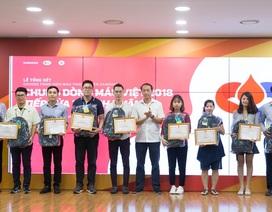 """Gần 18.000 đơn vị máu được hiến tặng trong chương trình """"Chung dòng máu Việt 2018"""""""