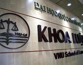 Khoa Luật - ĐH QGHN chấm dứt hợp đồng với giảng viên bị tố gạ tình