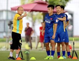 HLV Park Hang Seo chưa chốt danh sách chính thức đội tuyển Việt Nam