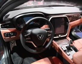Cận cảnh nội thất hai mẫu xe VinFast vừa ra mắt tại Paris Motor Show