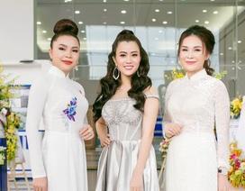 Á hậu Ngô Thu Phương từ Hà Nội vào tham dự Đại hội Doanh nhân Trẻ tỉnh Bình Dương