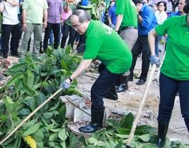 TPHCM vận động người dân không xả rác để giảm ngập