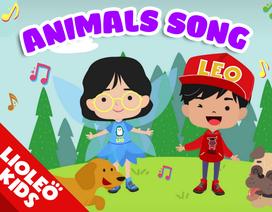 Tiếng Anh trẻ em: Mê tít với bài hát con vật vui nhộn