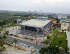 Nhà hát cấp huyện hơn trăm tỷ đồng 6 năm chưa xây xong