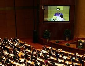 Chủ tịch Quốc hội: Đánh giá tín nhiệm lãnh đạo là nội dung giám sát đặc biệt quan trọng