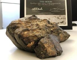Đại gia mua thiên thạch mặt trăng giá 600.000 USD từ Mỹ về trưng bày ở Hà Nam