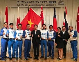 Hướng dẫn viên lái xe an toàn của Việt Nam giành giải nhất tại Nhật Bản