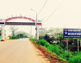 Bắt phó phòng Tài nguyên và Môi trường huyện Thanh Thủy - Phú Thọ