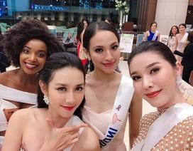 Thùy Tiên lọt top 10 trang phục dạ hội tại Miss International 2018