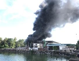 Cháy lớn tại công trình trung tâm thương mại, tổ chức sự kiện