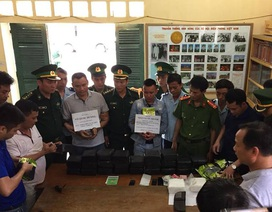 Mang hơn 30kg ma túy đá từ Lào về biển Thiên Cầm tiêu thụ