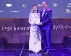 9x xinh đẹp đạt giải xuất sắc cuộc thi thẩm mỹ – làm đẹp quốc tế tại Hàn Quốc