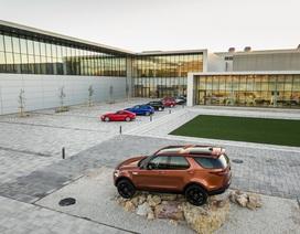 Tạm dừng sản xuất ở Anh, Jaguar-Land Rover khai trương nhà máy mới ở Slovakia