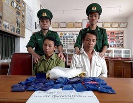 Bắt giữ gần 7000 viên hồng phiến và 1kg ma túy đá