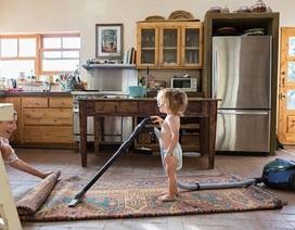 Giữ cho nhà sạch không phải việc của mỗi một mình mẹ