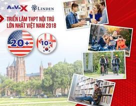 Triển lãm THPT nội trú Mỹ và quốc tế - Sự kiện đáng mong đợi nhất năm 2018