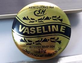Đình chỉ lưu hành 1 loại kem dưỡng ẩm Vaseline
