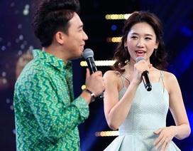"""Hari Won nổi cơn ghen, chê Trấn Thành """"mập"""" trên sóng truyền hình"""