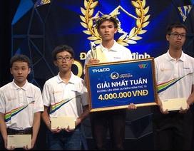 Nam sinh Nam Định được 100 điểm Khởi động, giành vé thi Tháng Olympia