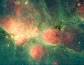 NASA mới phát hiện tinh vân hình bàn chân mèo