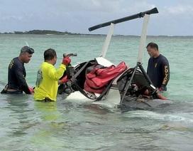 Cặp đôi thoát chết trong gang tấc khi máy bay trực thăng gặp sự cố bất ngờ