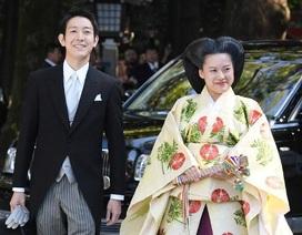 Công chúa Nhật Bản kết hôn với thường dân ở đền thiêng