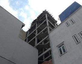 Rơi từ tầng 4 khách sạn đang thi công, nam công nhân tử vong
