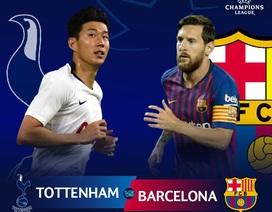 Tottenham - Barcelona: Harry Kane phong độ hay Messi đẳng cấp?