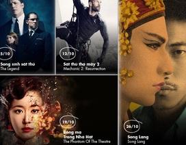 """Loạt phim điện ảnh và truyền hình """"hot"""" trên K+ tháng 10"""
