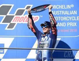 Vinales chiến thắng trong ngày bộ đôi Repsol Honda Team bỏ cuộc