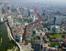 """Hà Nội: Toàn cảnh 2,2 km đường """"đắt nhất hành tinh"""" vừa được phê duyệt"""