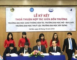 4 trường đại học Việt Nam công nhận tín chỉ của nhau trong chương trình học
