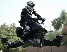 """Xe bay """"tương lai"""" của cảnh sát Dubai sắp được bán rộng rãi"""