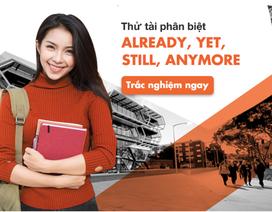 Học tiếng Anh mỗi ngày: thử tài phân biệt Already/ Yet/ Still/ Anymore