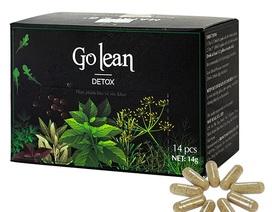 Bị làm giả sản phẩm, trà thảo mộc Golean Detox thay đổi bao bì từ hộp hình vuông sang hộp chữ nhật