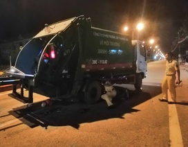 Nam thanh niên tử nạn dưới gầm xe chở rác