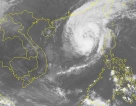 Bão số 7 gây mưa và gió mạnh trên Biển Đông