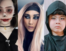 Sao Việt cùng các nhóc tì nhà sao hóa trang Halloween