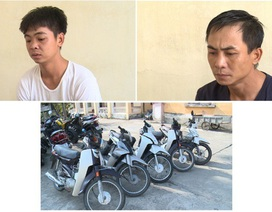 """Bắt 2 """"đạo chích"""" gây ra 13 vụ trộm xe máy"""
