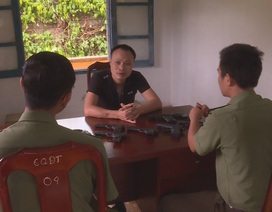 Cấp dưới trộm 9 khẩu súng, phó - trưởng công an huyện bị xem xét kỷ luật