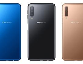 Smartphone 3 camera đầu tiên của Samsung có giá 7,7 triệu đồng