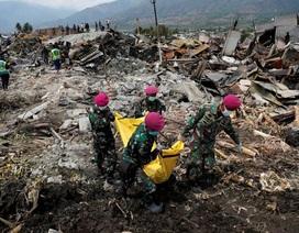 Số người chết do thảm họa động đất/sóng thần Indonesia lên gần 1.600 người