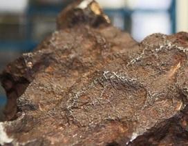 """Dùng đá thiên thạch trị giá 100.000 USD để… """"chặn cửa"""""""