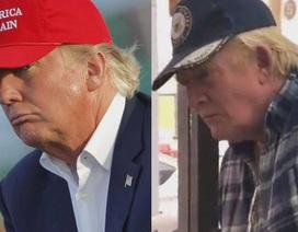 """""""Bản sao"""" của Tổng thống Trump gây xôn xao dư luận"""