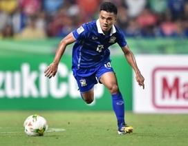 Bốn ngôi sao lớn của Thái Lan chắc chắn không dự AFF Cup 2018