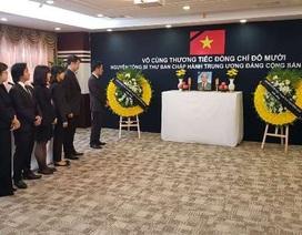Tổng lãnh sự quán Việt Nam tại Thượng Hải tổ chức viếng nguyên Tổng Bí thư Đỗ Mười